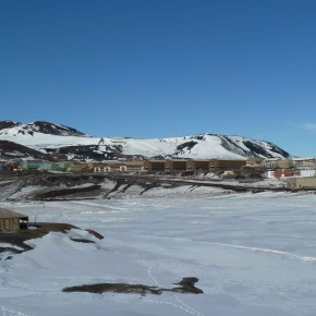 McMurdo Station and surroundings