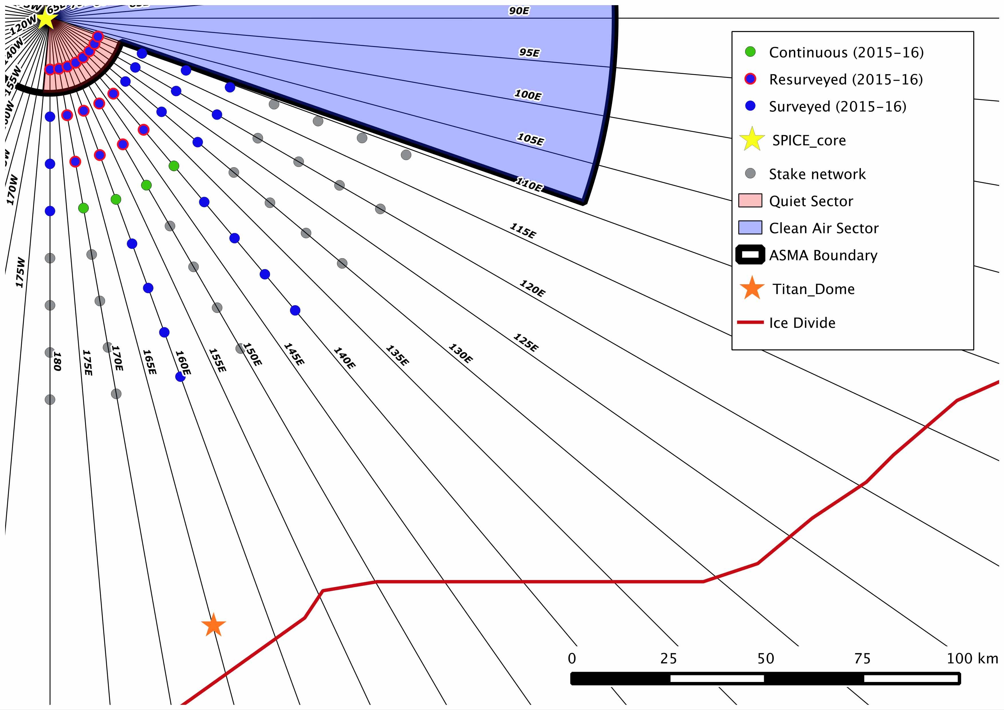 South Pole Flow | michelle koutnik
