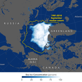 Arctic sea ice and international policy